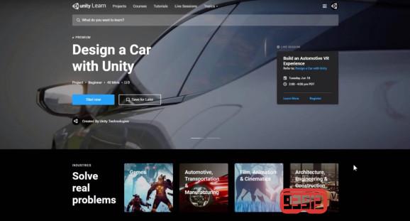 Unity是最受欢迎的技术之一在未来三年内增长率将超过57%