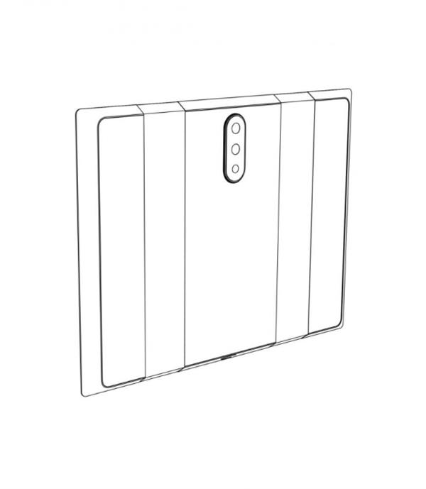 小米可折叠手机专利曝光:双折叠设计+三摄