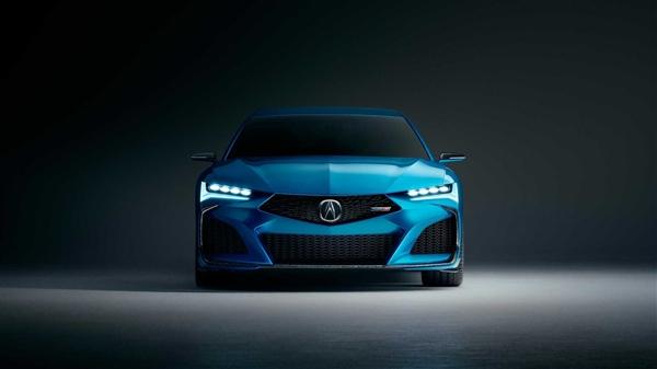 思域Type-R有伴了!讴歌Type S概念车官图发布:预示全新TLX设计