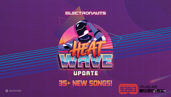 DJ版VR游戏《Electronauts》更新曲库新增39首歌曲