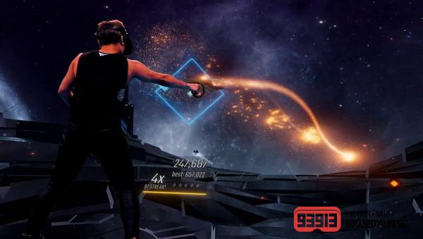VR音游节奏游戏《Audica》即将登陆PSVR平台