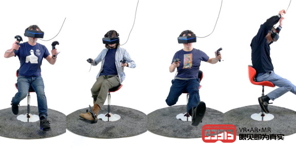 Cybershoes VR触控器支持在虚拟现实中无限行走