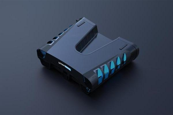 PS5开发机3D渲染图曝光 简直就是一架星际飞船