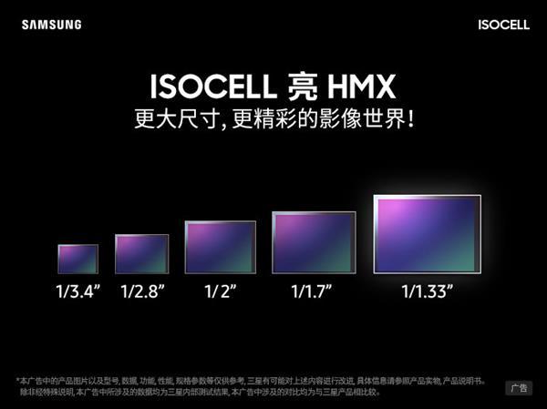 小米MIX首发!三星科普1亿像素传感器:1/1.33大底