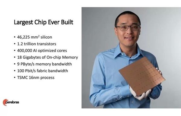 40万核心1.2万亿晶体管!美国能源部相中世界最大芯片