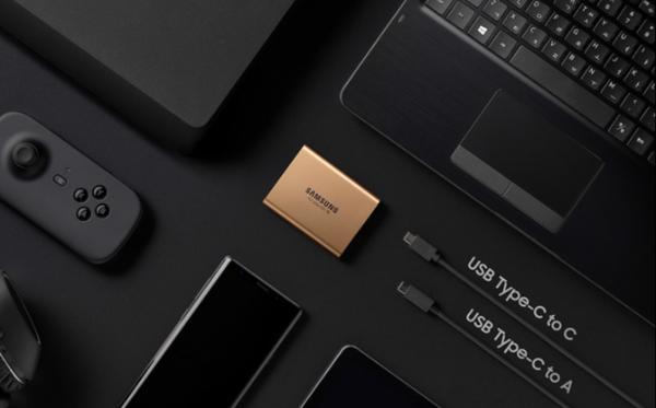 做你的精致数据管家 三星移动固态硬盘T5 高效更安全