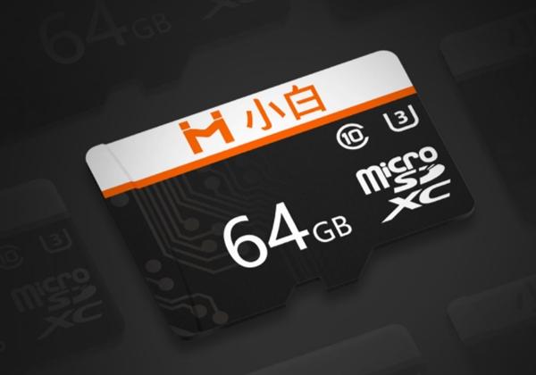 创米小白Micro SD存储卡发布:三种容量 39.9元起