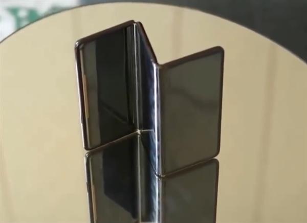 TCL三折手机原型机曝光:尺寸接近平板 打开和折叠状态都能用