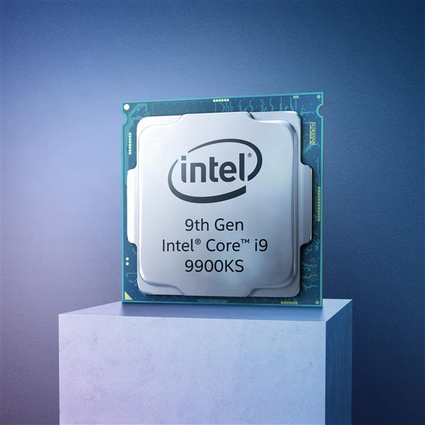 Intel发布酷睿i9-9900KS处理器:8核5GHz 游戏性能提升35%