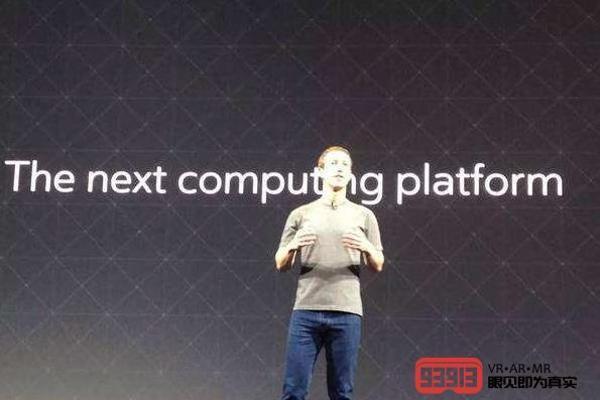 "Facebook将打造""下一代概念原型""VR头显和..."
