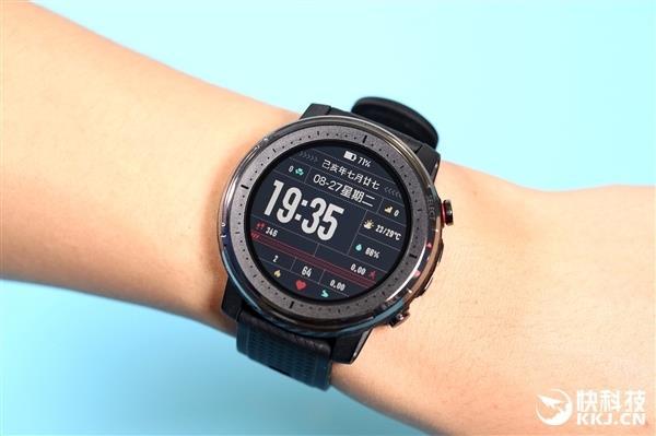 华米手表3大升级:80种运动模式 支持太极和打猎