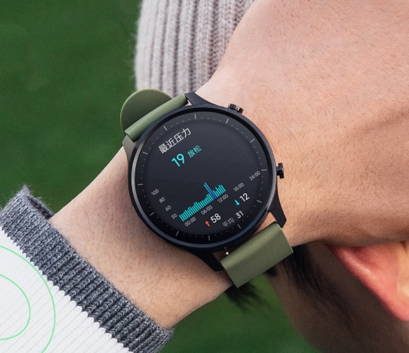 小米手表Color就长这样:十种专业运动+NFC