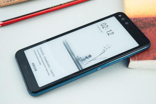 海信双屏阅读手机A6L评测:水墨屏护眼阅读正反都精彩
