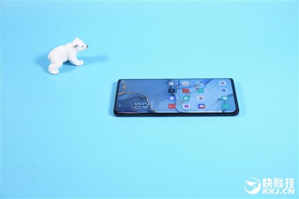 最轻薄5G手机!OPPO Reno3 Pro月夜黑开箱图赏