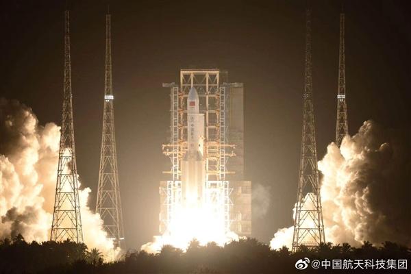 官宣!长征五号遥三火箭发射成功、实践20号卫星入轨