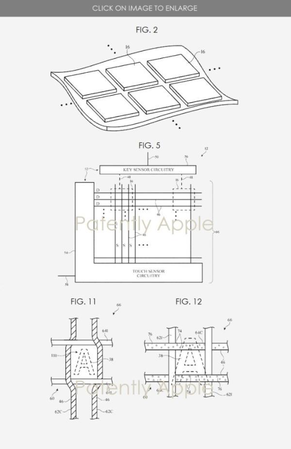 苹果新专利曝光!未来键盘或将支持触摸感应及手势控制