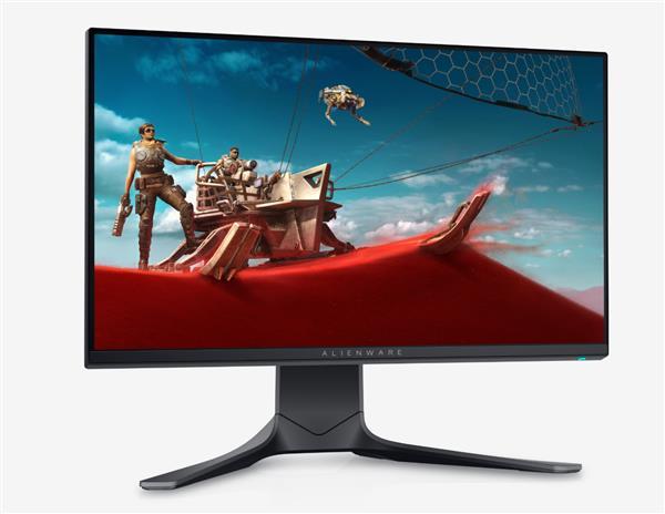 戴尔发布外星人游戏显示器:25寸1080p IPS面板、240Hz 1ms