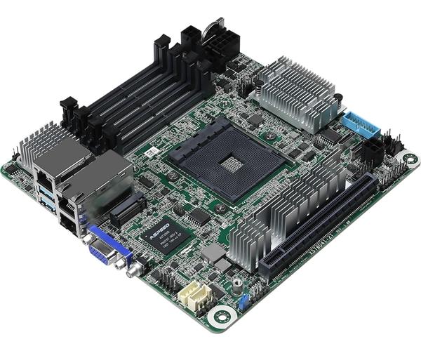 华擎发布X570 ITX迷你服务器主板:两个Intel万兆网卡