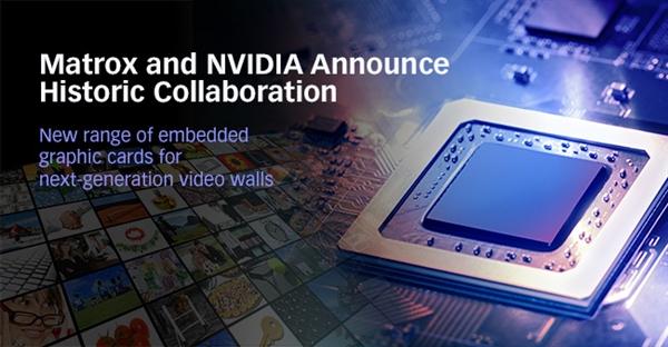 Matrox发布多屏显卡:搭载定制NVIDIA GPU