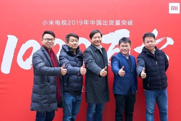 年出货超1000万台刷新中国电视史:小米获两大机构...