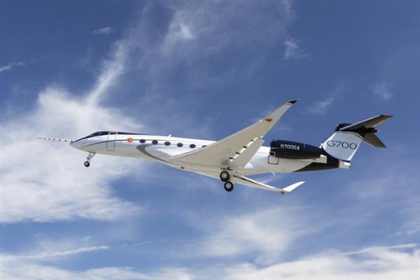 【飞机】科技大佬们快换新!最快/大私人飞机湾流G700完成首测