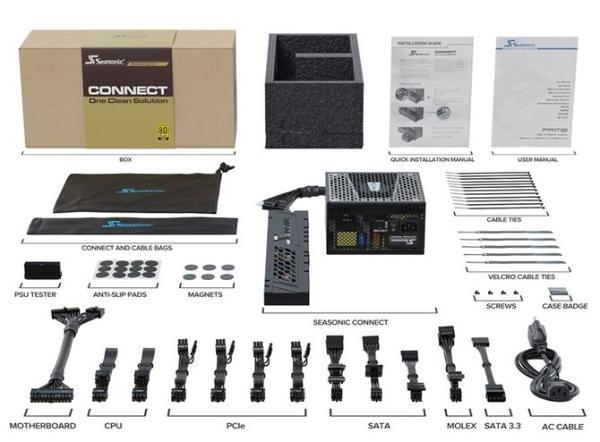 海韵概念电源Connect正式发布,独特的模块化设计