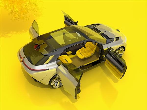 雷诺发布Morphoz概念车:尺寸可调节/可扩展并多带一块电池