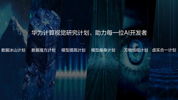 华为发布计算视觉计划:三大方向、邀请全球AI专家加入