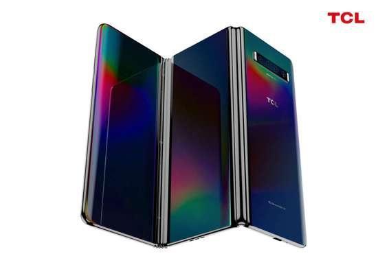 TCL推出两款概念手机:三折屏和抽拉屏是亮点