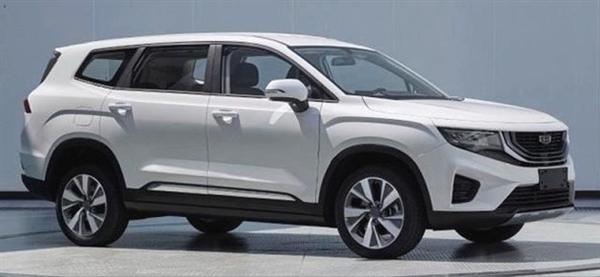 5/7座可选!吉利全新中型SUV豪越内饰发布:轴距超汉兰达
