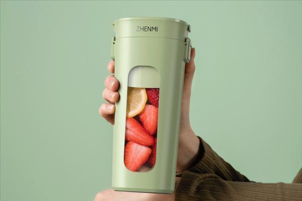 「小米众筹」小米众筹新品:真空便携榨汁杯 一键15秒抽真空