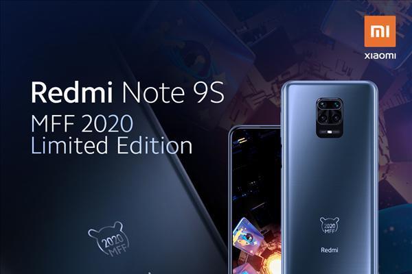 Redmi Note 9S米粉节限量版亮相:限量2...