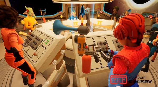 VR太空冒险游戏《Spaceteam VR》将于5月21日发售