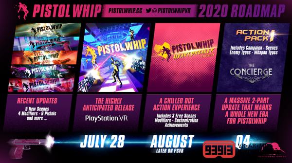 VR动作射击游戏《Pistol Whip》PSVR版即将上市