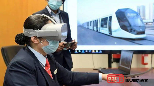 迪拜电车司机正采用VR电车驾驶培训解决方案增强驾驶技能