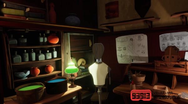 VR冒险游戏《Maskmaker》发布首部预告片