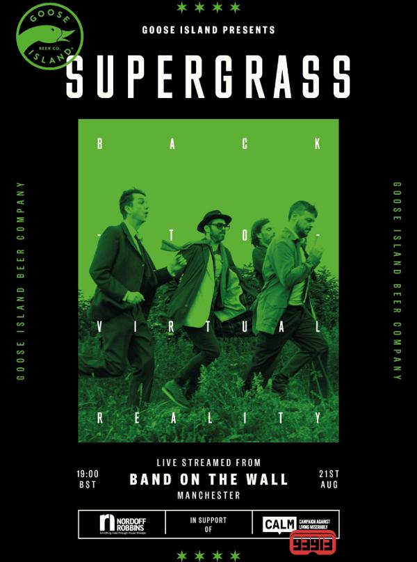 英国Supergrass乐队与美国鹅岛啤酒公司合作推出VR演唱会