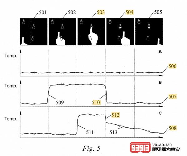 苹果AR眼镜新专利:可以将任何表面变成触控显示屏