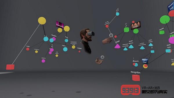 VR思维导图应用Noda将发布多用户功能