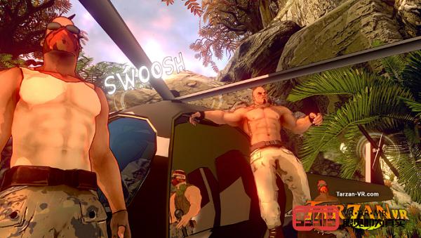 VR冒险游戏《Tarzan VR》发布最新预告片