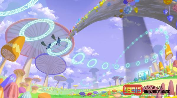VR动漫游戏《小魔女学园:VR扫帚竞速》即将登录Oculus Quest