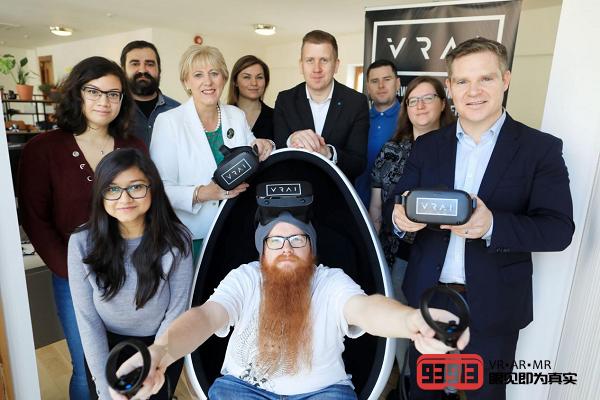 爱尔兰VR培训创企VRAI完成120万欧元种子轮融资