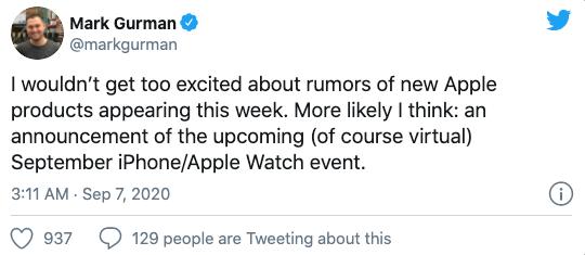 9月8日苹果有大事儿 iPhone 12发布会官宣?