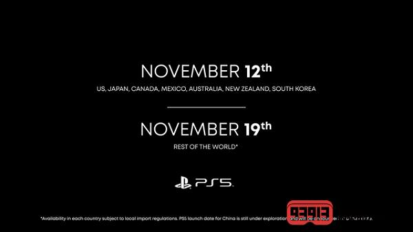 索尼|索尼官宣:PS5主机399.99美元起售,11月12日开卖