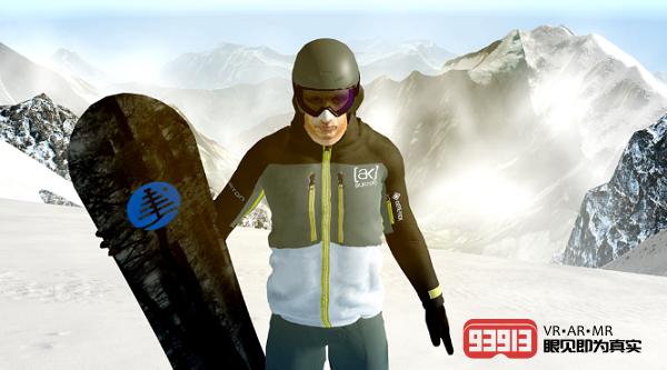 著名滑雪运动员Terje Haakonsen加入《Powder VR》团队