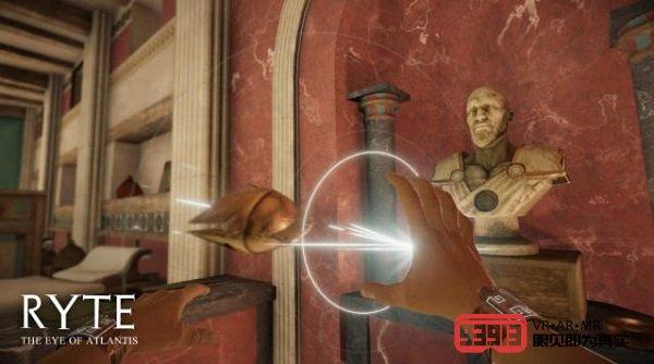VR冒险游戏《Ryte: The Eye of Atlantis》将于今年冬季推出
