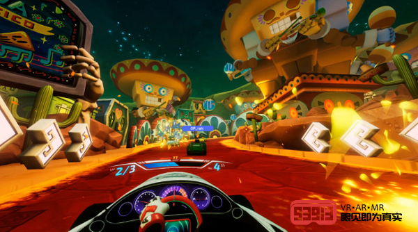 玩法丰富:VR赛车游戏《Dash Dash: World》即将上线Steam