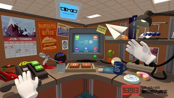 VR休闲游戏《Vacation Simulator》&《Job Simulator》发布版本更新