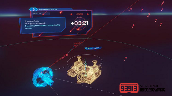 VR太空冒险游戏《AGOS: A Game of Space》现已发布