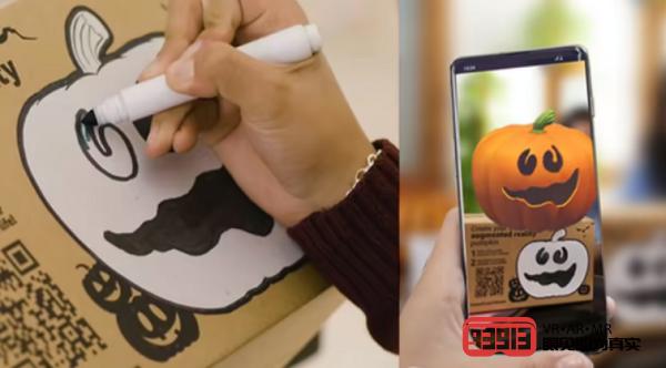 亚马逊推出AR主题包装盒以庆祝万圣节